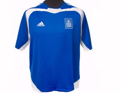 another chance eb88e c5b62 GREECE HOME JERSEY - Greece home jersey Greece Home Jersey ...