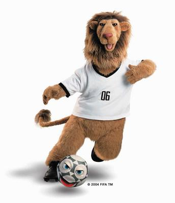 world cup. 2006 Football World Cup Mascot